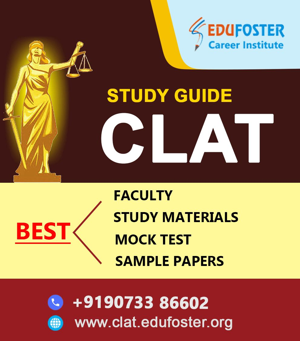 Study Clat Best Law Coaching Institute Guaranteed Success Contact 9073386602 In 2020 Study Guide Sample Paper Mock Test