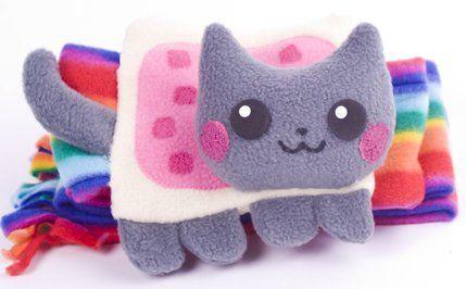 nyan cat scarf (: