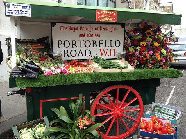 Love Your Local Market fornight launches at Portobello Road Market.