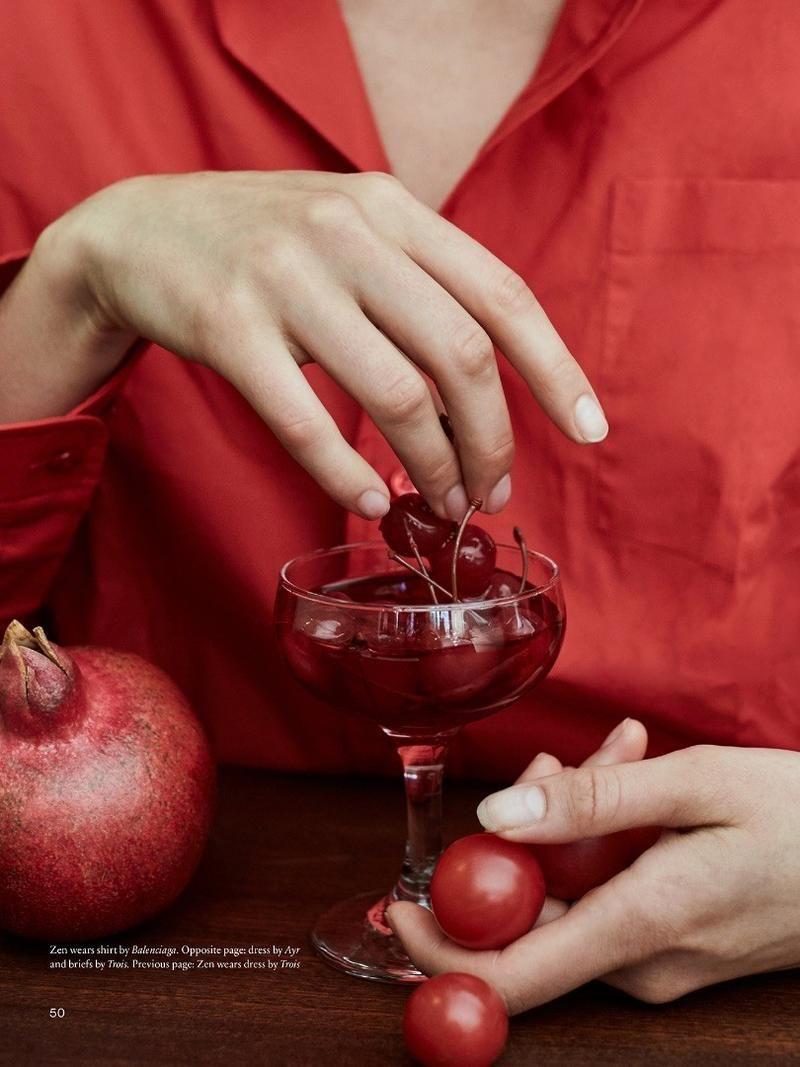 Cafe Society Unconditional Magazine Foodie Fashion Monochrome Photography Fruit Photography
