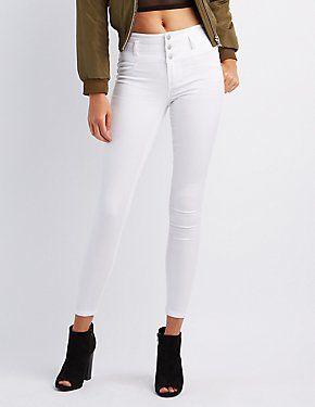 20c8ded4e3ed8d Women's Jeans, Jeggings & Trendy Denim | Charlotte Russe | My Style ...