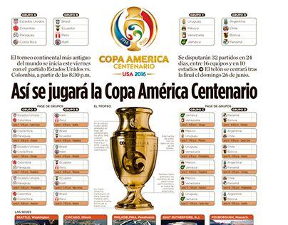 """Check out new work on my @Behance portfolio: """"Calendario y sedes de la Copa América Centenario 2016"""" http://be.net/gallery/37880175/Calendario-y-sedes-de-la-Copa-Amrica-Centenario-2016"""
