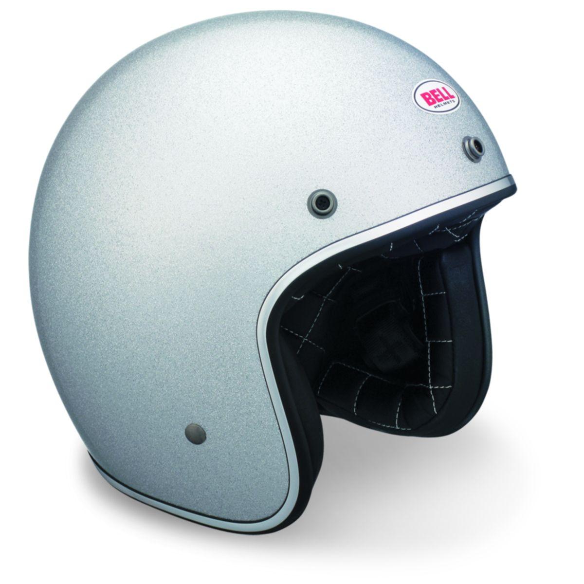Thehelmetman Com Bell Custom 500 Silver Flake Open Face Helmet Closeout 68 99 Http Thehe Vintage Helmet Open Face Helmets Open Face Motorcycle Helmets