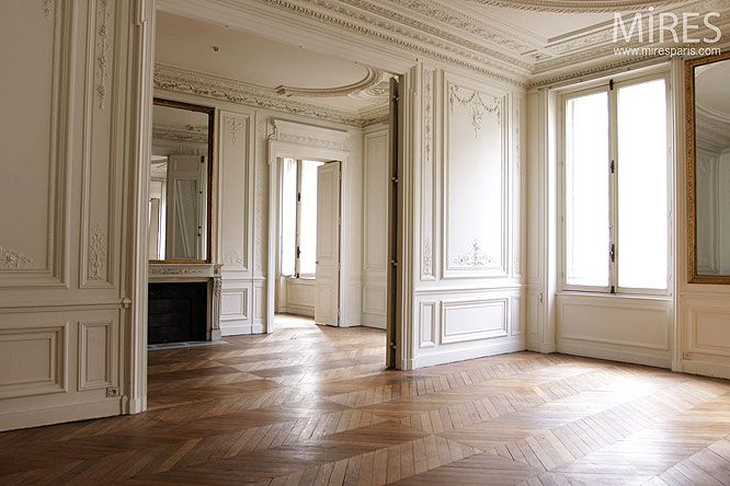 haussmannien appartement in paris graphic pinterest haussmannien appartements et paris. Black Bedroom Furniture Sets. Home Design Ideas