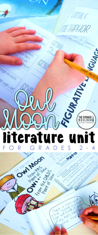 Owl Moon Literature Unit My Favorite Read Alouds