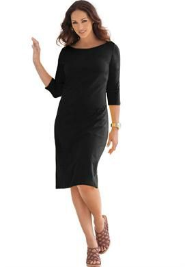 61f40ab320dec Classic Boatneck Dress