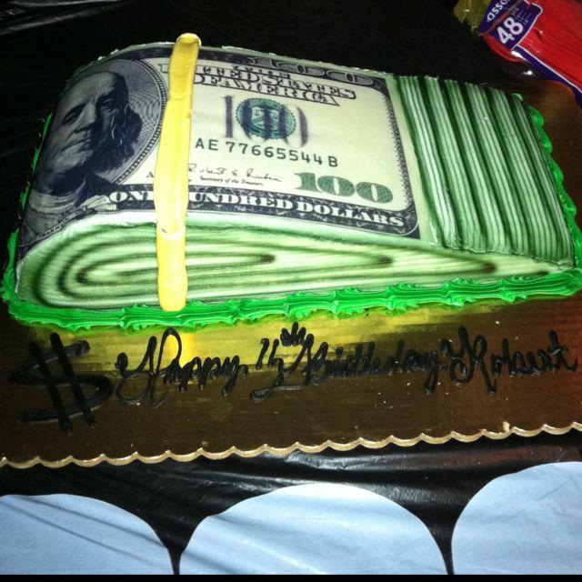 Wad of money cake :) Oteri's Italian Bakery