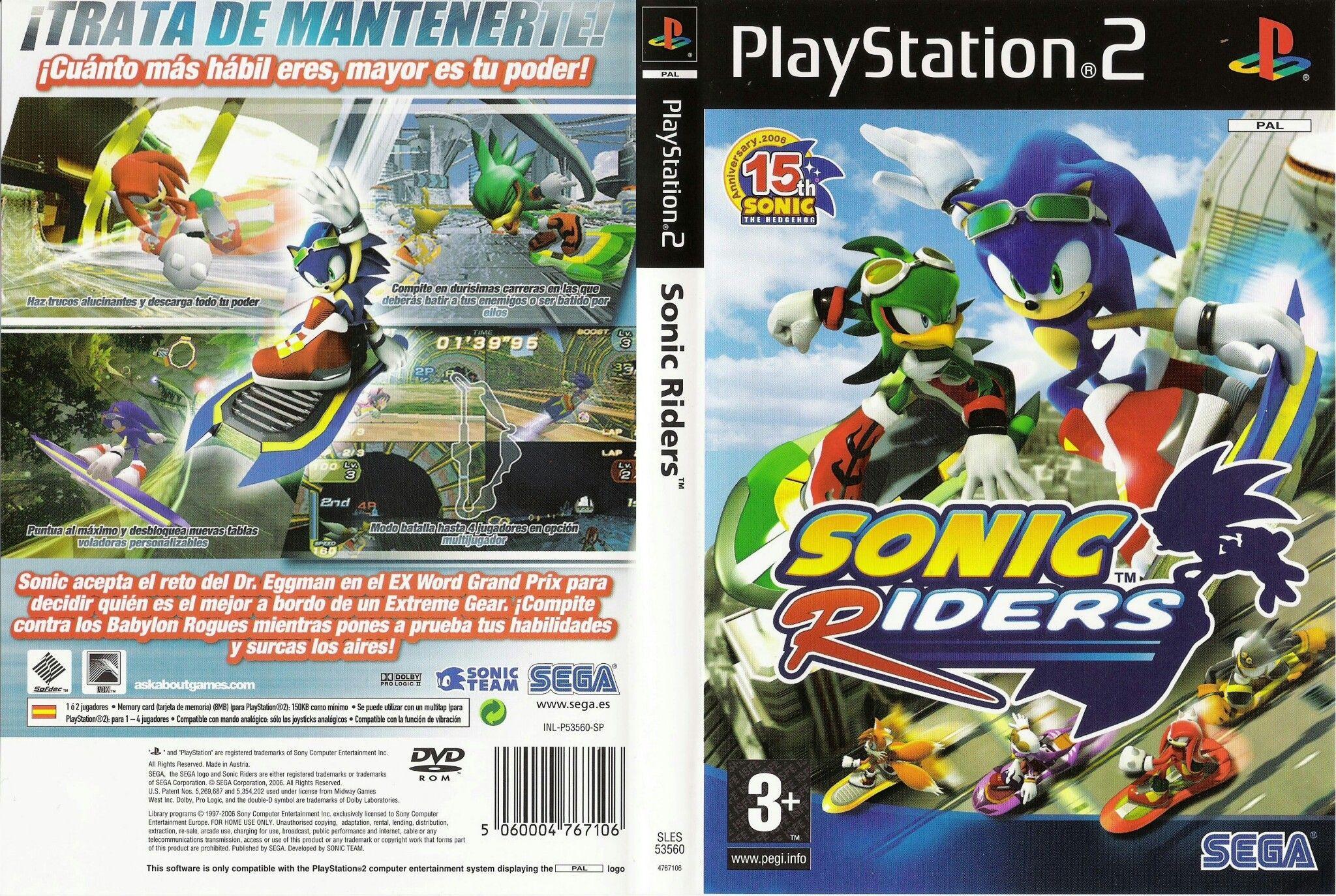 Sonic Riders Playstation Sonic Riders Playstation 2
