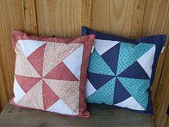 capa de almofada em tecido patchwork - Pesquisa Google