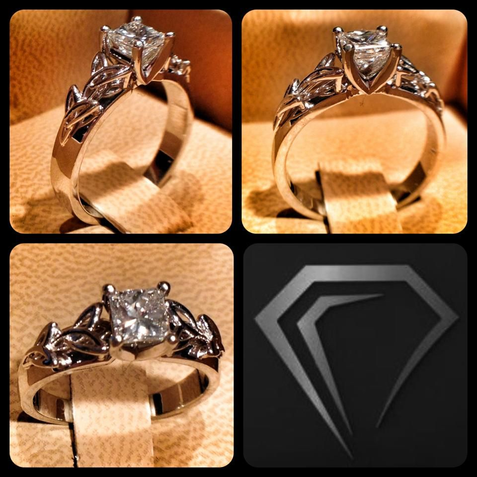 I totally LOVE this ring. The Celtic symbol for love in