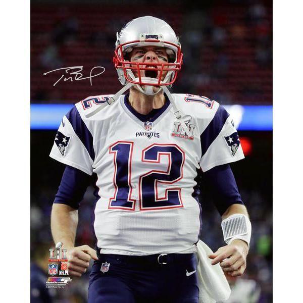 Tom Brady Autographed 8x10 Or 16x20 Tom Brady New England Patriots Tom Brady News