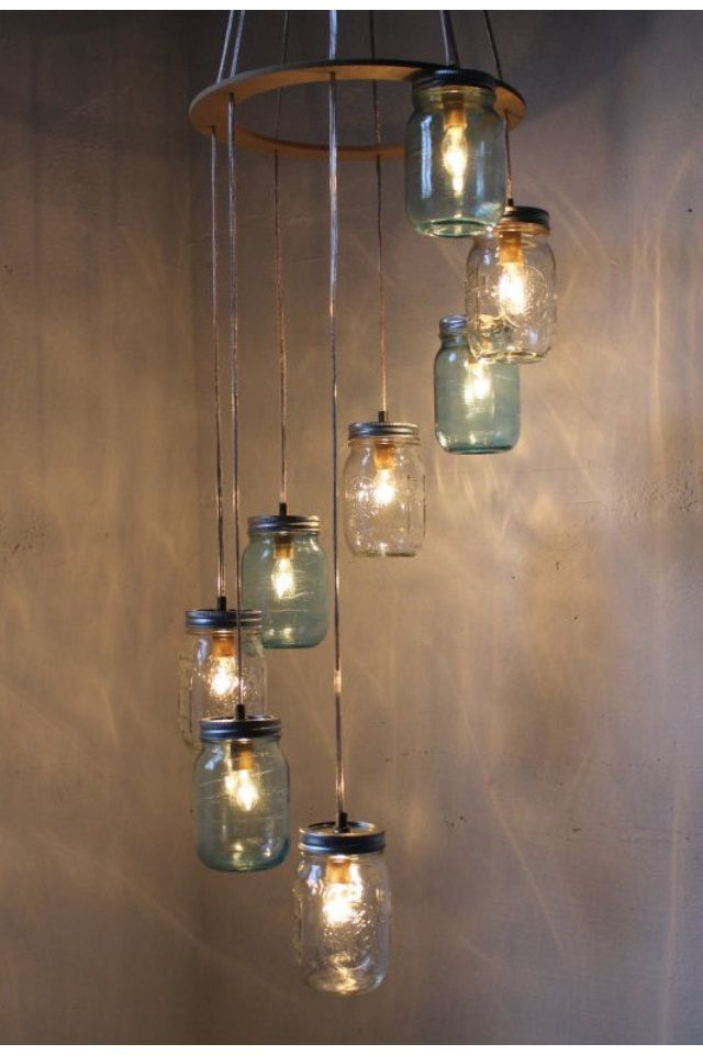Find on etsy mason jar chandelier waterfall showers luminrias find on etsy mason jar chandelier waterfall showers aloadofball Gallery