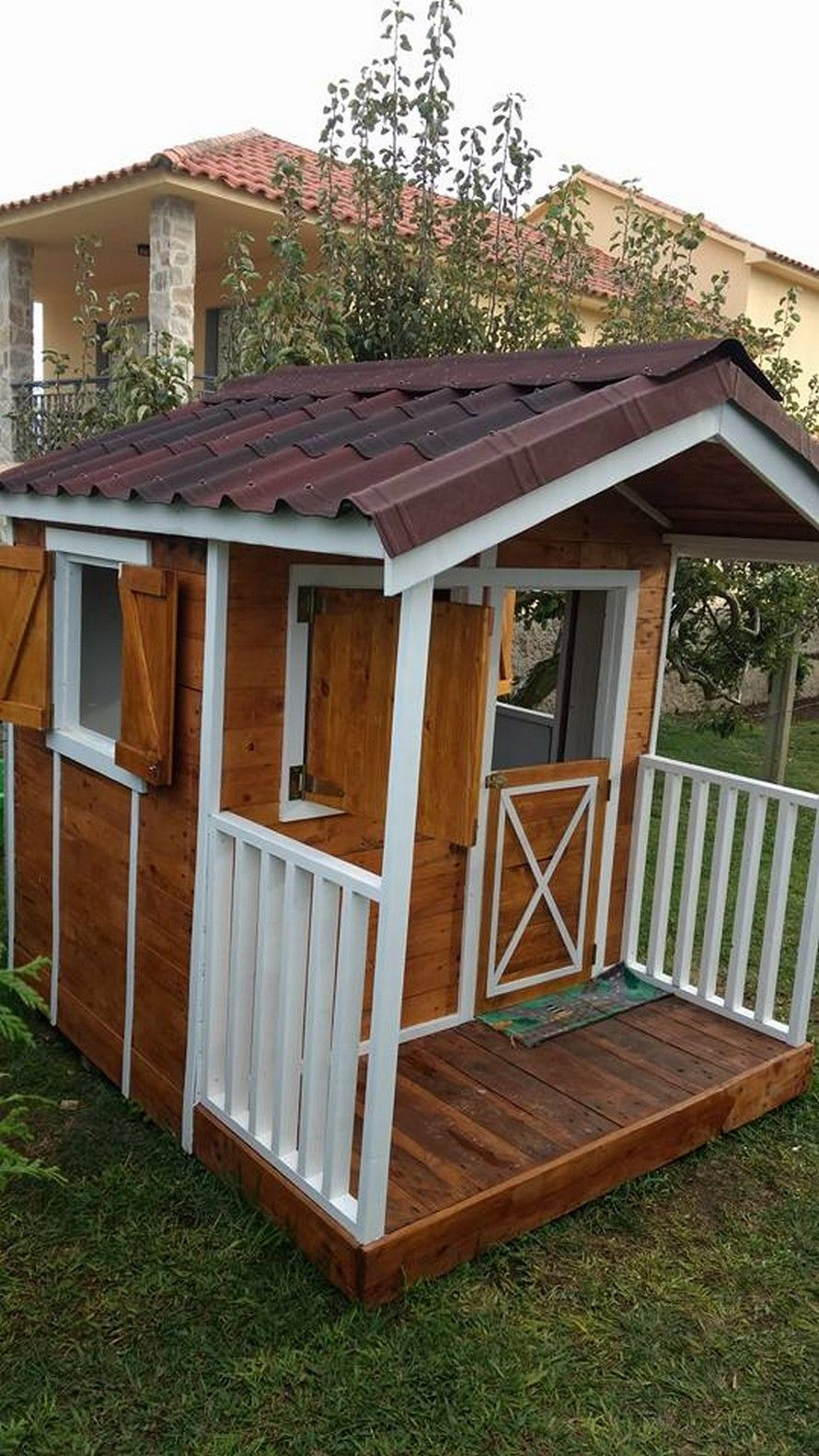 Recycled Pallet Garden Cottage Sheds Workshops With