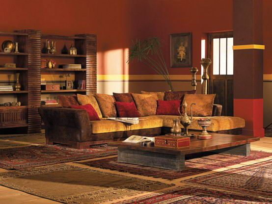 Traditional Ancient Living Room Design Living Room Ideas - Traditional indian bedroom designs