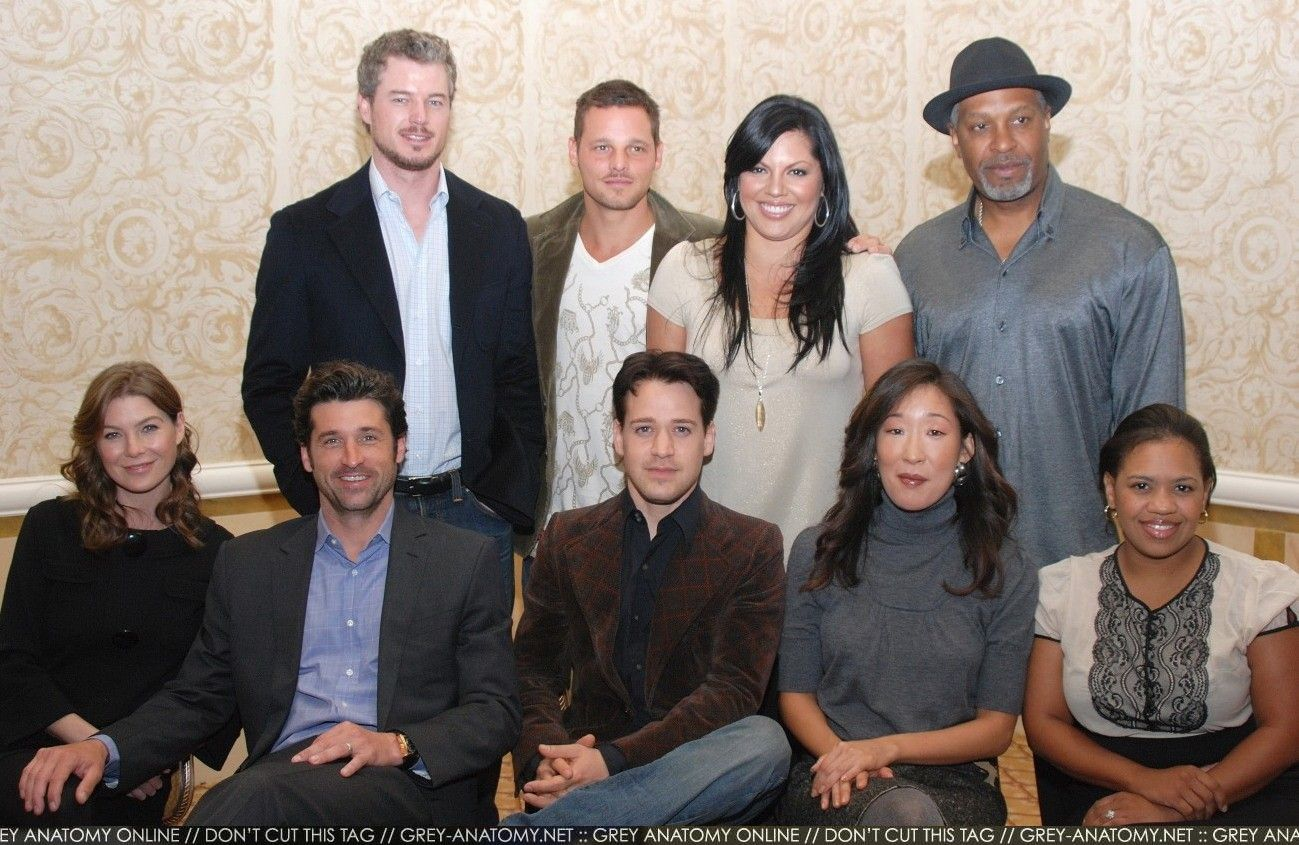 Mark, Alex, Callie, Richard, Meredith, Derek, George, Christina ...