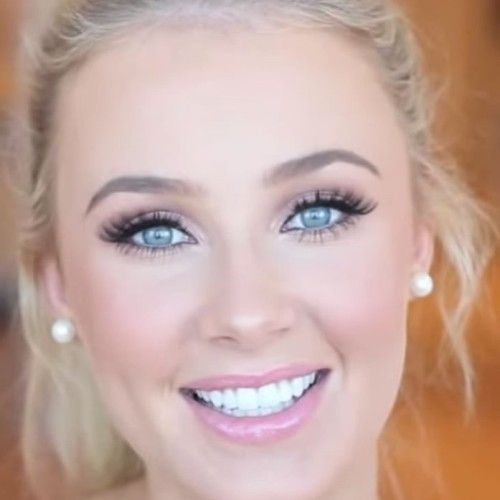 Simple Prom Makeup For Blue Eyes Wedding Makeup Prom