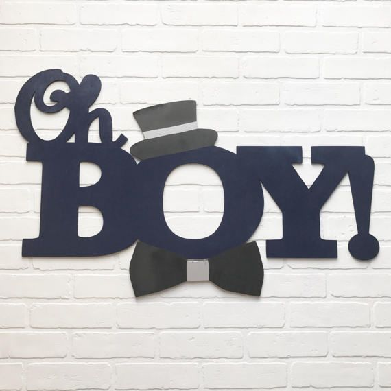 Oh Boy Wood Backdrop Sign In 2019 Party Event And Wedding