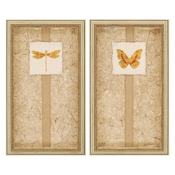 Luxe Framed Wall Art - Set of 2 ($279) ❤ liked on Polyvore ...