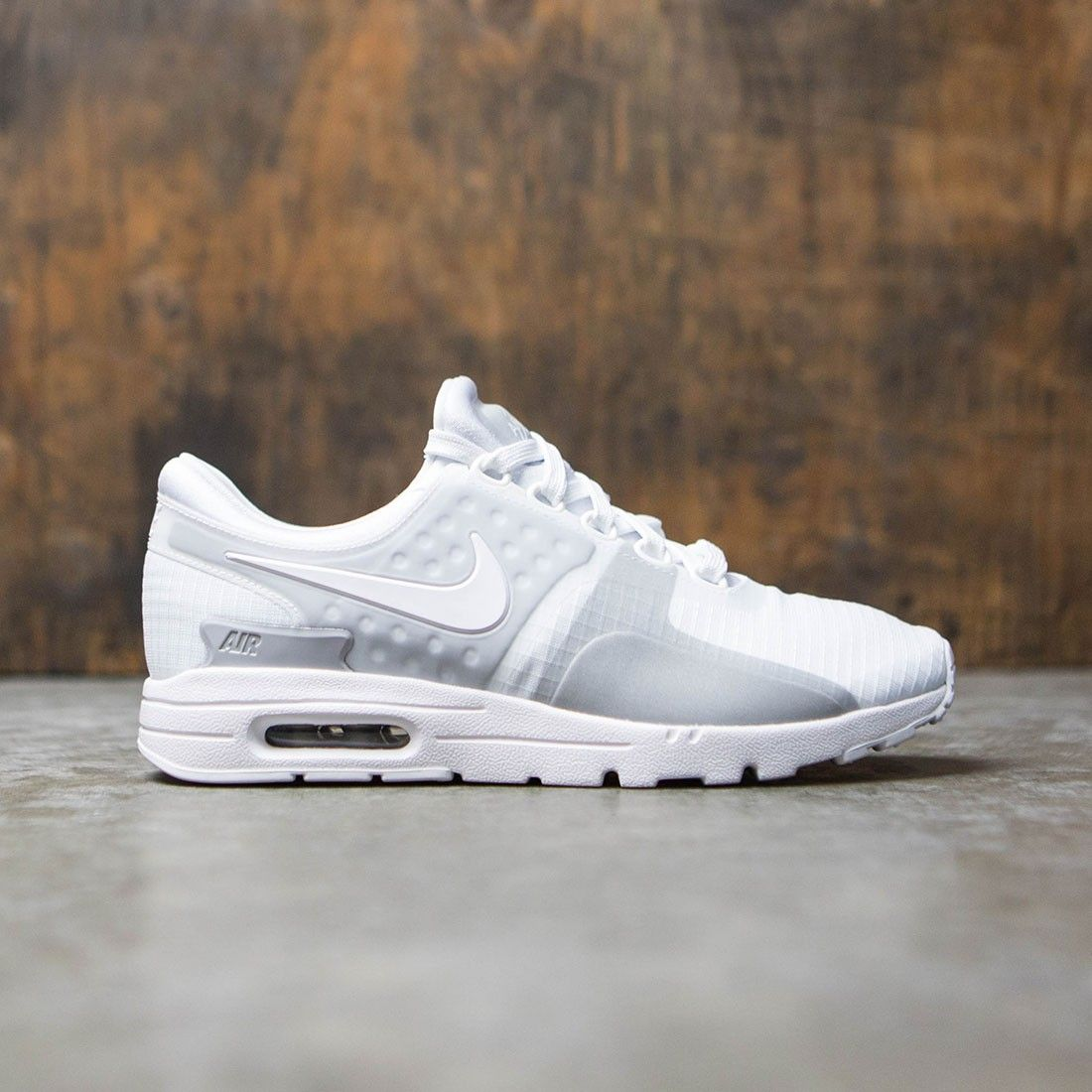 detailed look 50e4b 438df Nike Women Air Max Zero Si (white   white-wolf grey-reflect silver)