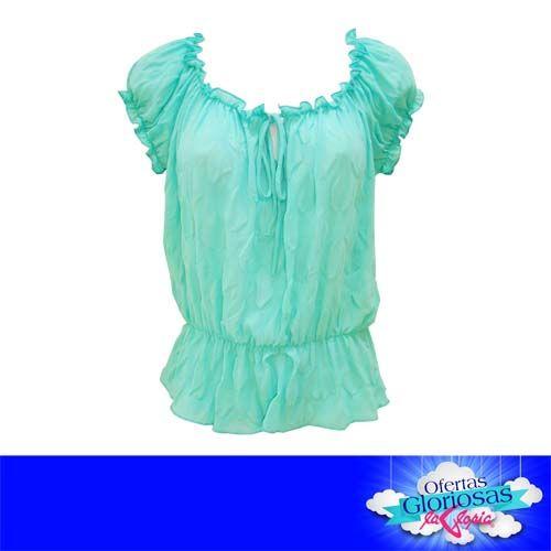 No te quedes en casa. ☼ ¡Sal y luce tu estilo! #blusas #OfertasGloriosas 50% #Descuento #Damas