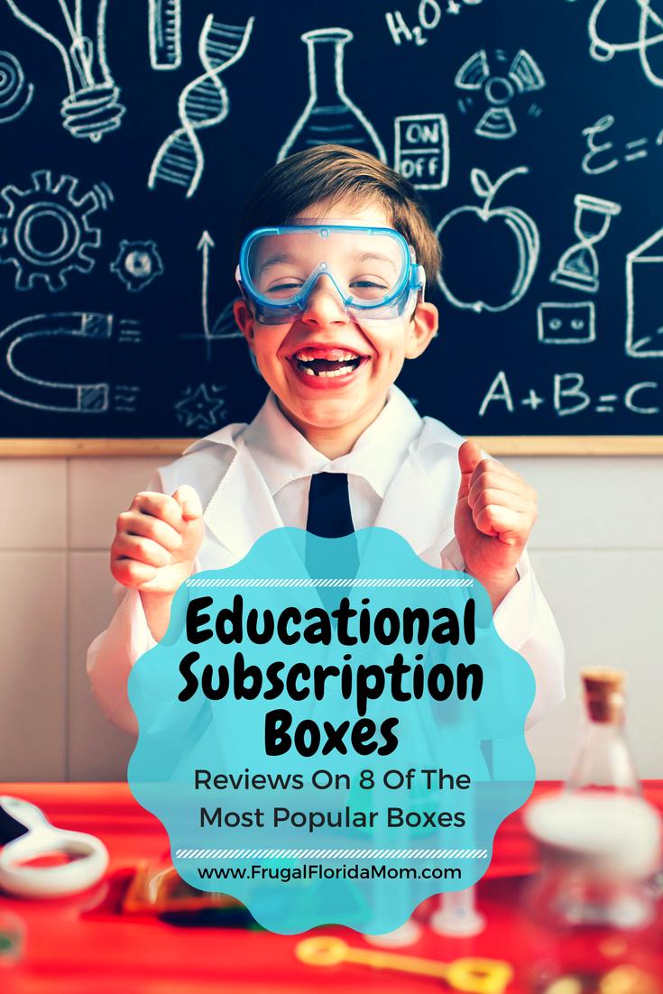 Educational Subscription Boxes Kids education