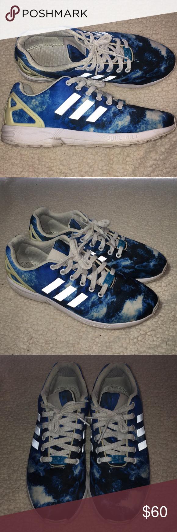 adidas zx flux ocean 9.5