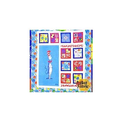Kit: The Magical Cat in the Hat Quilt Kit   Quilt Kits   Pinterest ... : cat in the hat quilt kit - Adamdwight.com