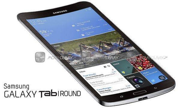 Samsung Galaxy Tab Round   In arrivo il primo tablet con display curvo di Samsung? - http://www.keyforweb.it/samsung-galaxy-tab-round-arrivo-il-primo-tablet-con-display-curvo-di-samsung/