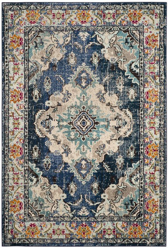 Annabel Navy Light Blue Area Rug Dreaming Big In 2019