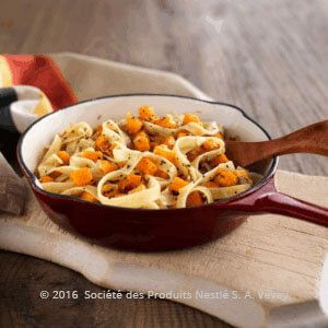 Tagliatelle with Roasted Pumpkin and Sage Butter