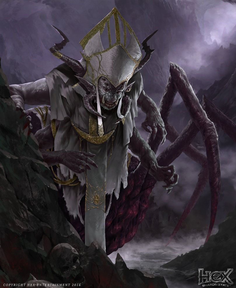 Arachnid Priest by TSRodriguez.deviantart.com on @DeviantArt