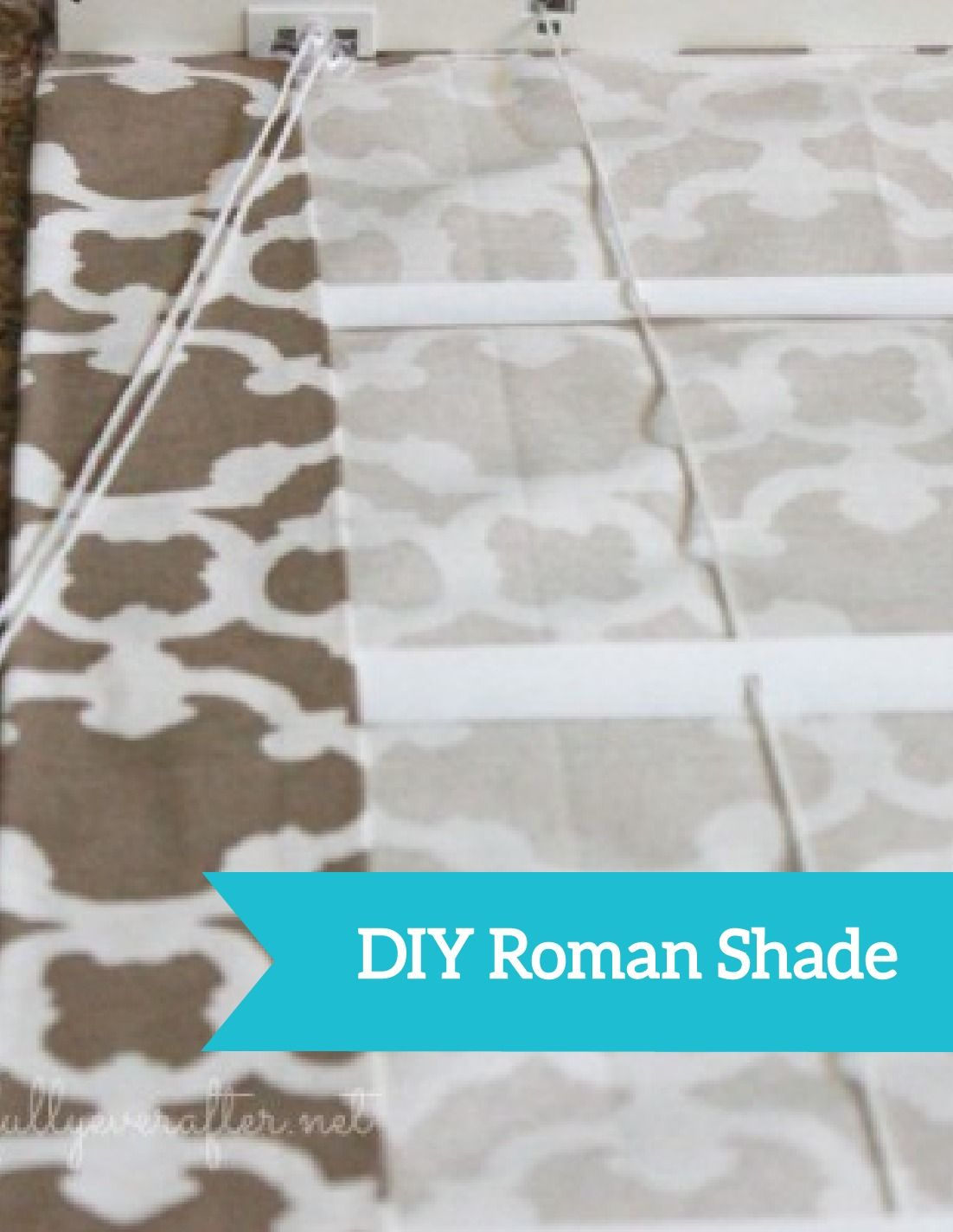 Diy Roman Shades Easy How To Make A Roman Shade Diy Pinterest Roman Shades Diy
