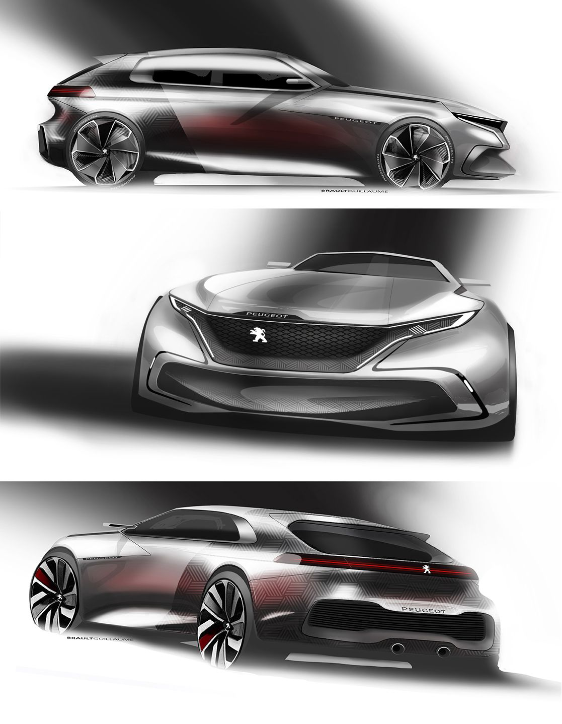 "Check out this @Behance project: ""Peugeot"" https://www.behance.net/gallery/31064181/Peugeot"