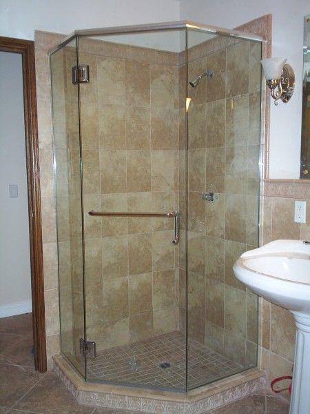 Rahmenlose Dusche Tür Gehäuse Gehäuse, Rahmen und Haus