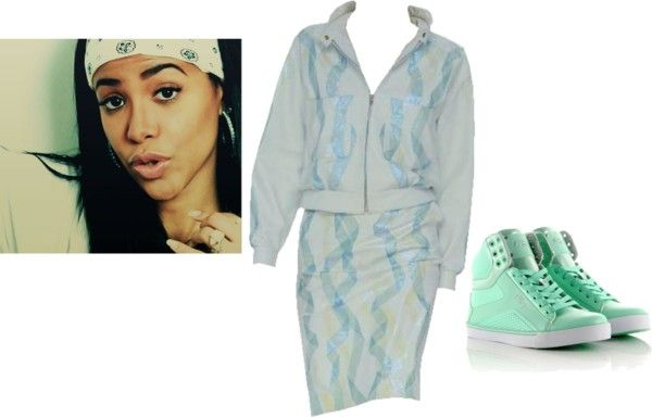 """""""Aaliyah"""" by djlbg on Polyvore"""