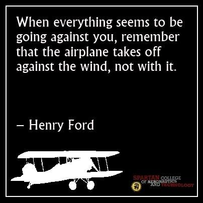 When things go against you . . . .