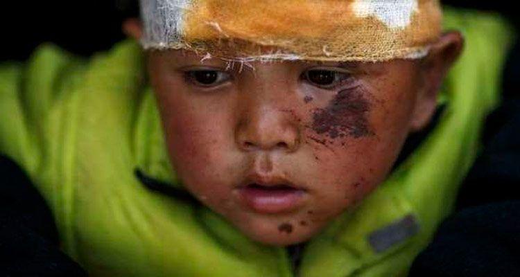 1 milhão de crianças precisam de ajuda no Nepal (Foto: Reprodução)