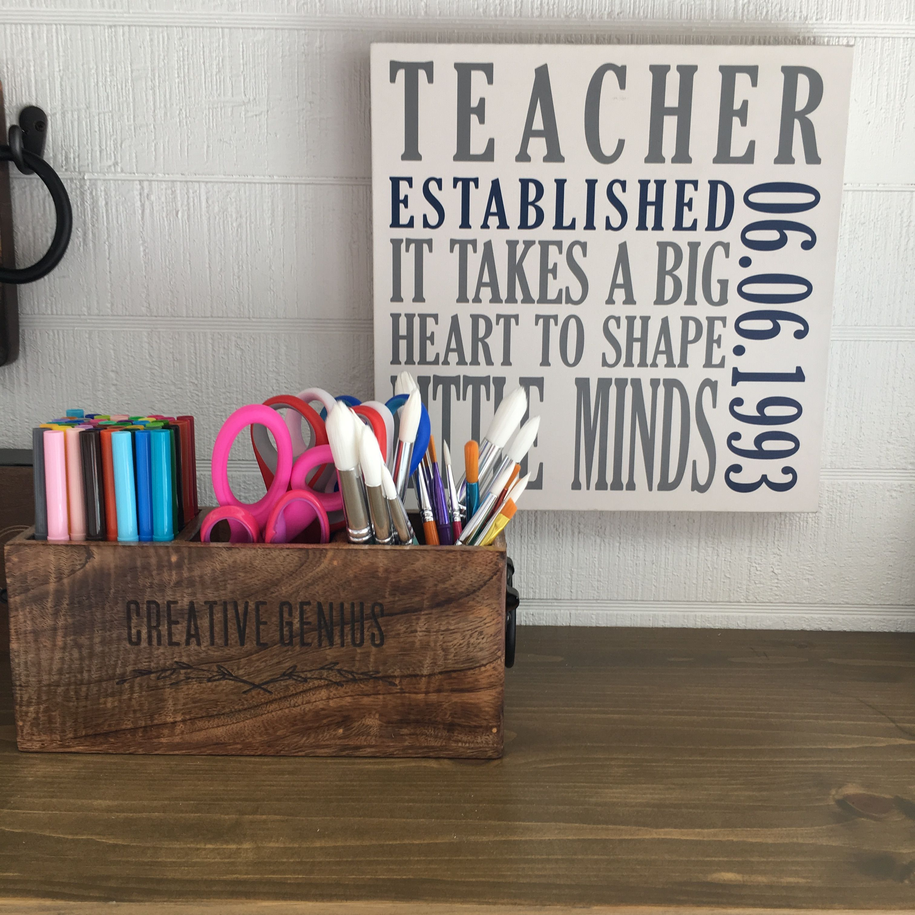 Close to home caddy by thirty one has you covered check out our personalized wall art too thirtyone www thebagdealer com