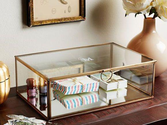 Glazen Meubels ~ Decoreren met glazen kistjes studio pinterest decoreren