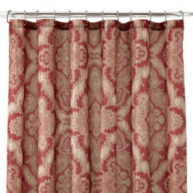 Royal VelvetR Brandywine Shower Curtain Found At JCPenney