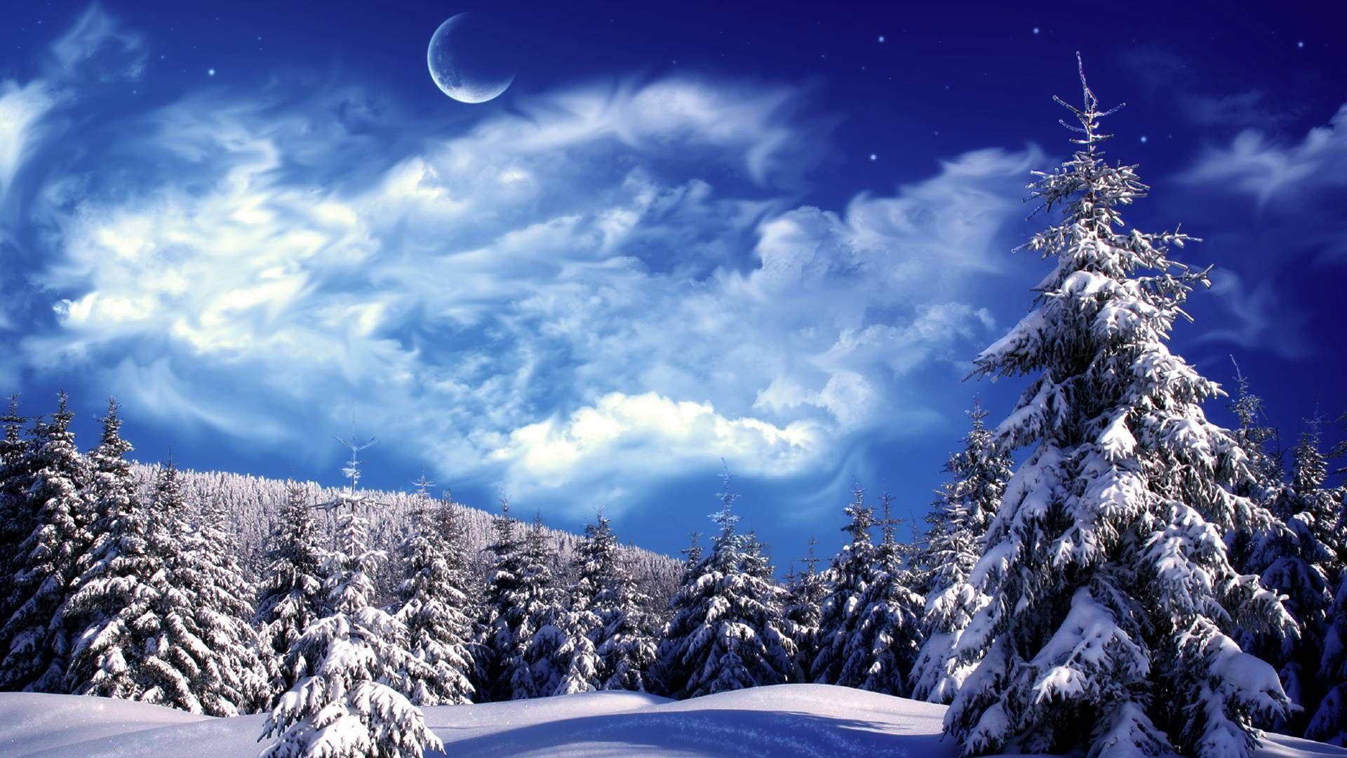 Pin By Mukta Sharma On A Very Merry Christmas Winter Scenery Winter Wallpaper Hd Winter Landscape
