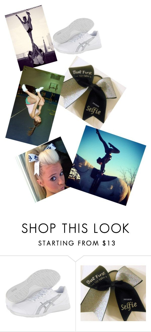 """Cheerleading #2"" by sageparas ❤ liked on Polyvore featuring Asics"