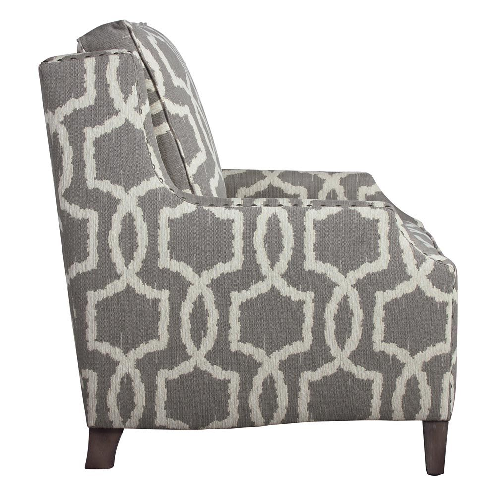 Peachy Geometric Accent Chair Accent Chairs Patterned Chair Spiritservingveterans Wood Chair Design Ideas Spiritservingveteransorg