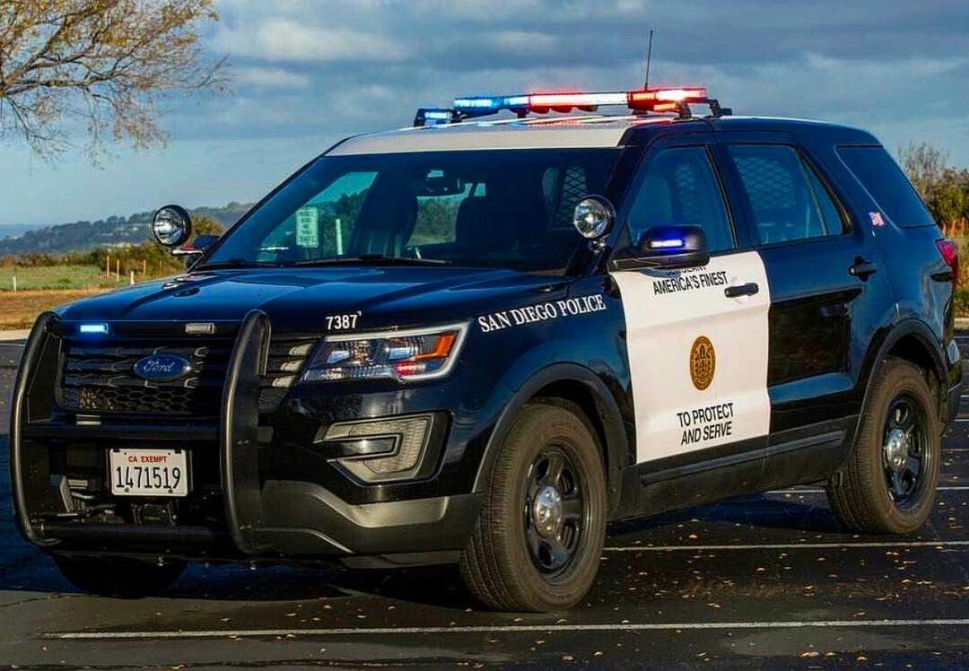 San diego ca police 7387 2016 ford interceptor utility
