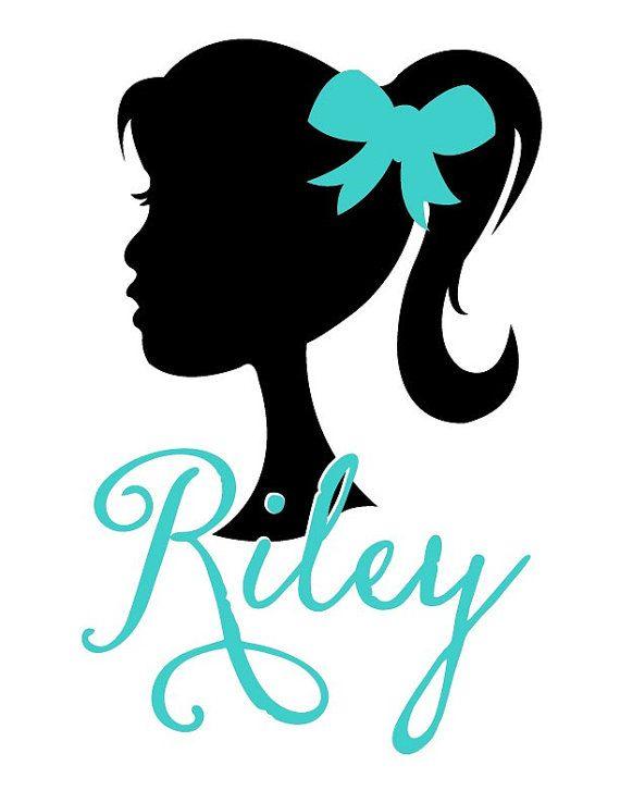 Custom Profile  Girl by mermarie on Etsy