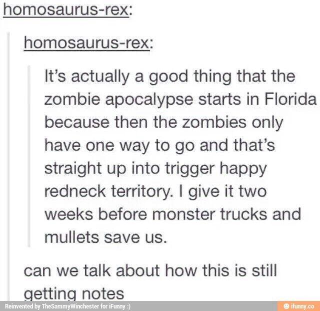 Zombie Apocalypse Funny Quotes Funny Posts Tumblr Funny