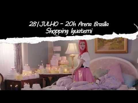 A empresa Vision Produções divulgou uma chamada para o show do Paramore em Brasília que ocorre dia 28 de julho. Assista: