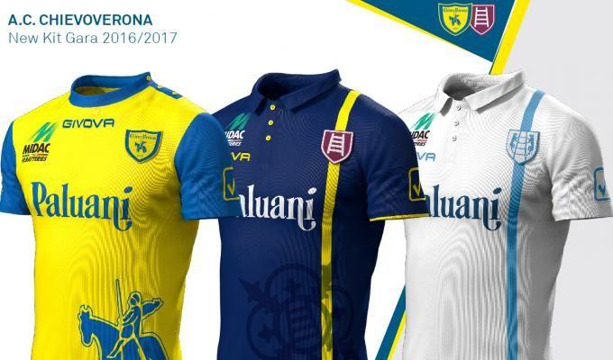 Uniformes da Serie A Itália 2016-2017 (Campeonato Italiano  54506f6585b68