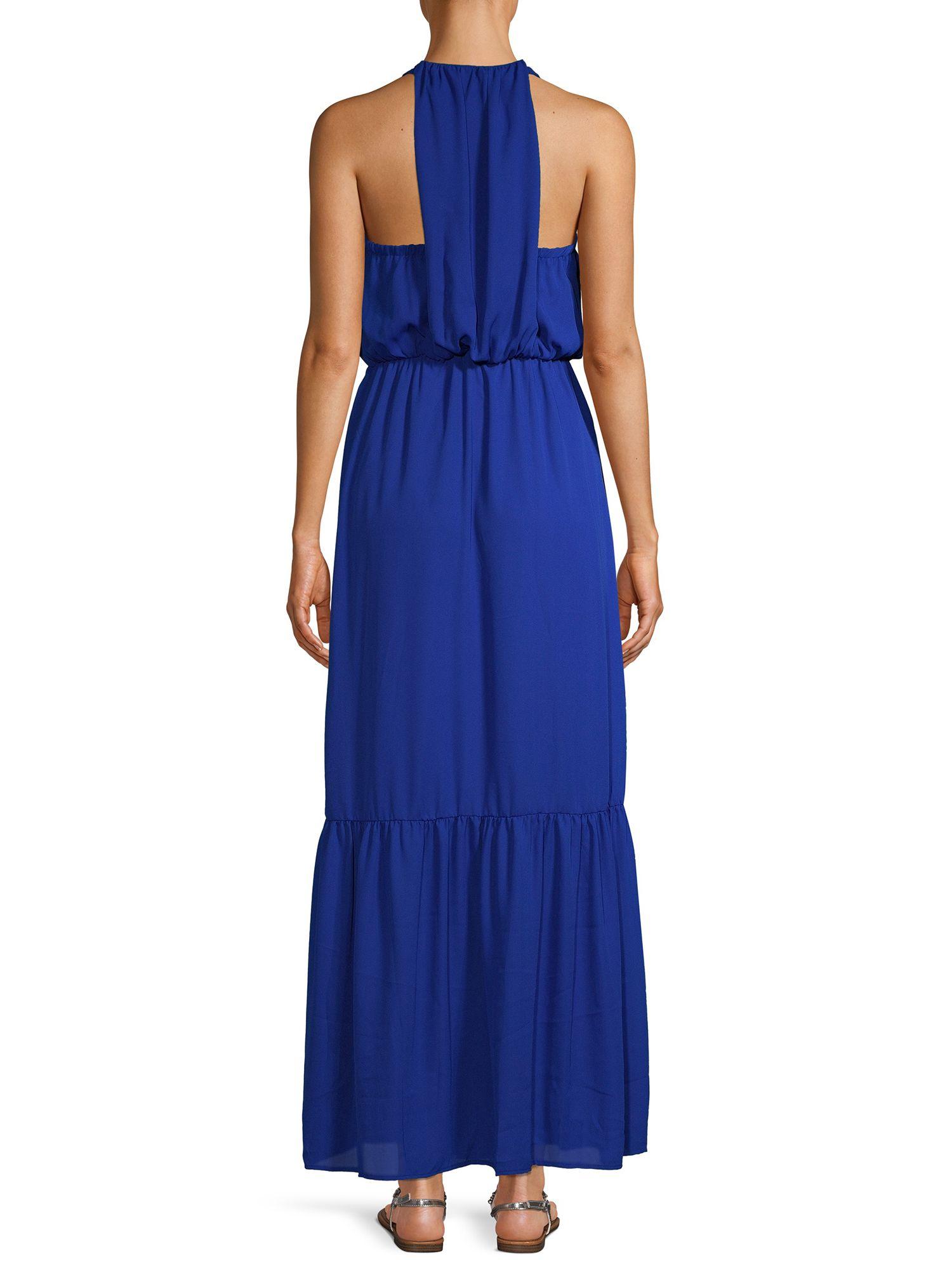 Nsr Nsr Women S Halter Maxi Dress Walmart Com Women Halter Maxi Dress Halter Maxi Dresses [ 2000 x 1500 Pixel ]