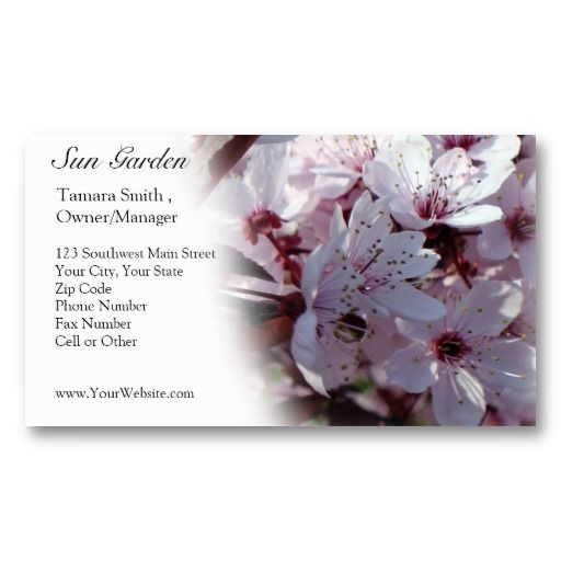 floral business card template unique and elegant professional